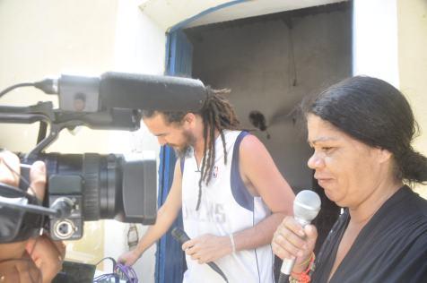 Radio Tumbalala durante o Cine Kurumin